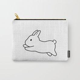 Tobe & Friends – Dwarf rabbit Carry-All Pouch