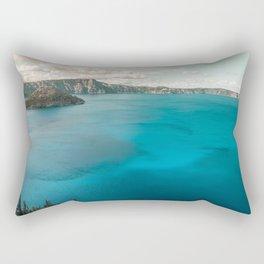 Summer At The Lake Rectangular Pillow