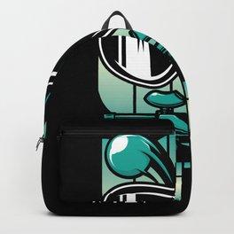 Hobby Sport Paintball Shirt Design Backpack