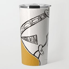 Queen Nefertiti Travel Mug