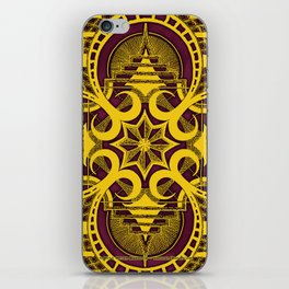 omjárah gold gallery mandala iPhone Skin