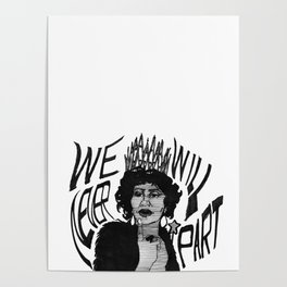 Sing to me, Aretha Poster