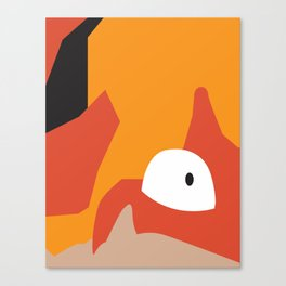 Close Up Art - Krab Canvas Print