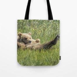 My Foot's So Pretty, Oh So Pretty - Bear Cubs, No. 2 Tote Bag