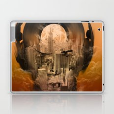 new york music sound Laptop & iPad Skin