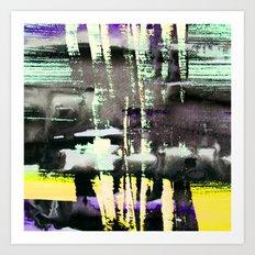 Smoke Screen Art Print
