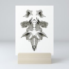 Rorschach Composition Mini Art Print