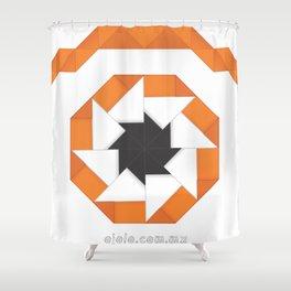 oj.origami Shower Curtain