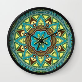 Mandala my new creation IV Wall Clock