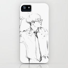 Jet lag iPhone Case