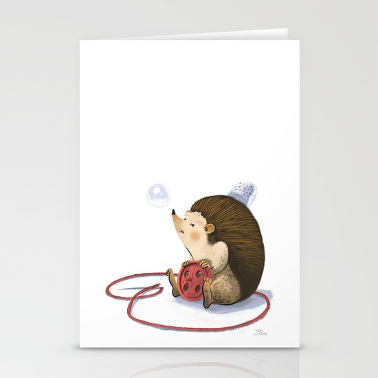 Hedgy Stationery Cards