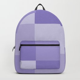 Four Shades of Lavender Square Backpack