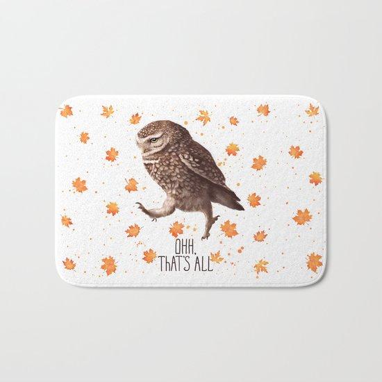 Owl ohh, that's all Bath Mat