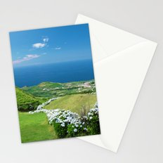 Azores landscape Stationery Cards