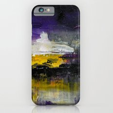 Purple Abstract Landscape iPhone 6s Slim Case