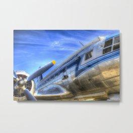 Malev Ilyushin IL-14 Aircraft Metal Print