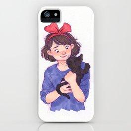 Kiki and Jiji iPhone Case