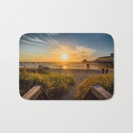 Sunrise at Cocoa Beach Bath Mat