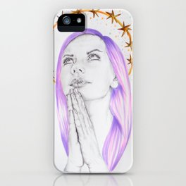 Memoirs of an Imperfect Angel iPhone Case