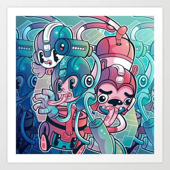 MegaPals Art Print
