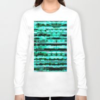 turquoise Long Sleeve T-shirts featuring Turquoise by allan redd