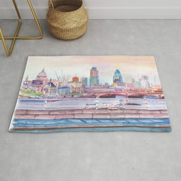 Colorful London Rug