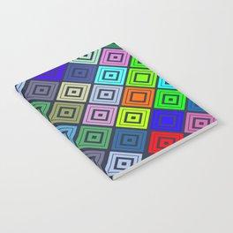 Modern Multicolor Patterns Notebook