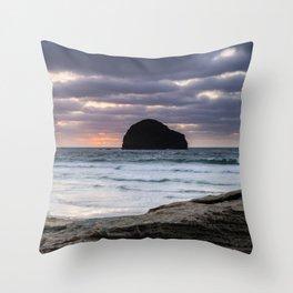 Really Rugged Coast II Throw Pillow