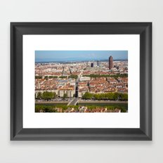 LYON-FRANCE  Framed Art Print