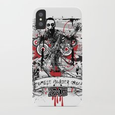 Zombie iPhone X Slim Case