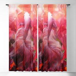 """Betta splendens Tropical Dream (Siam fighter)"" Blackout Curtain"