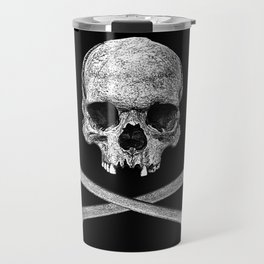Jolly Roger Banner Travel Mug