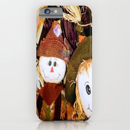 Scarecrow Selfie iPhone Case