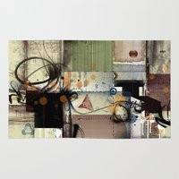 picasso Area & Throw Rugs featuring Everyday Picasso by Robin Curtiss