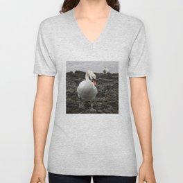 Swans Unisex V-Neck