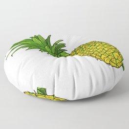 Pi the pineapple Floor Pillow