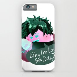 Villain Deku Dango iPhone Case