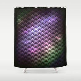 Snake COlors Shower Curtain