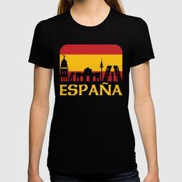 Spain design I Sights Glass Palace Viva ESPANA Gift T-shirt