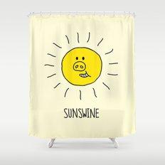 Sunswine Shower Curtain