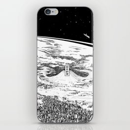 Space upon us iPhone Skin