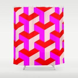geometric patterns Shower Curtain