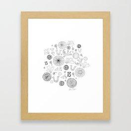 Lucky You Framed Art Print