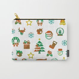 Christmas Theme Carry-All Pouch