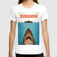 steve zissou T-shirts featuring Zissou by Wharton