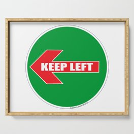 KEEP LEFT 04 Serving Tray