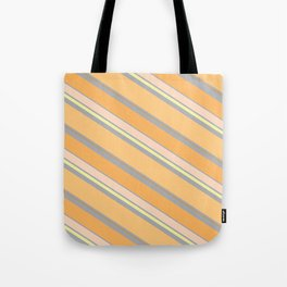 Orange Cream Tote Bag