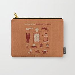 Doctor Who |Aliens & Villains (alternate version) Carry-All Pouch