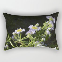 Anemone Wildflowers Rectangular Pillow