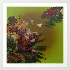 Jungle Gold Art Print